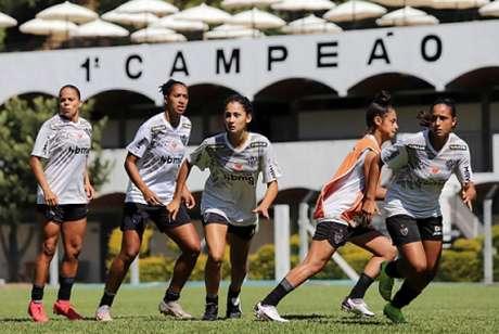 As atuais campeãs mineiras vão começar sua caminhada rumo ao acesso à  primeira divisão nacional-(Divulgação/Atlético-MG)