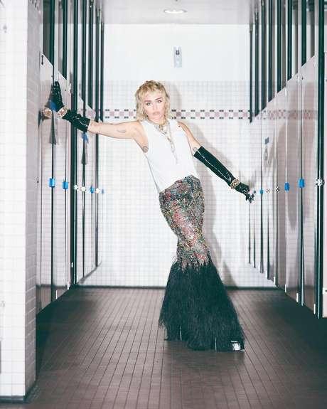 Miley Cyrus./ Reprodução (Instagram @mileycyrus).