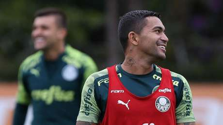 Dudu atiçou a torcida do Verdão na noite desta sexta-feira (Foto: Cesar Greco/Palmeiras)