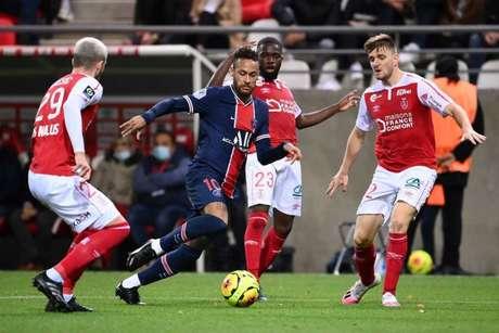 PSG venceu o Brest por 2 a 0 no primeiro turno (Foto: FRANCK FIFE / AFP)