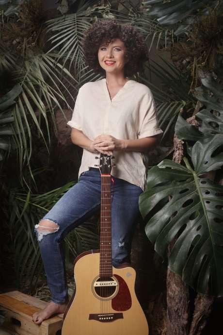 Roberta Campos ministra curso de música