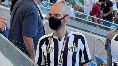 Covas era torcedor fanático do Santos (Foto: Reprodução)