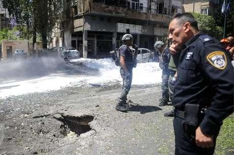 Foguete atingiu Ramat Gan, bairro israelense