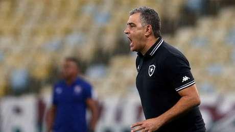 Marcelo Chamusca é o treinador do Botafogo (Foto: Vitor Silva/Botafogo)