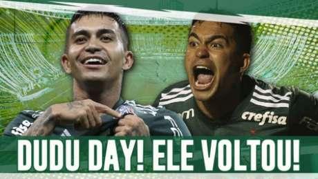 Dudu está de volta ao Palmeiras (Arte: Murilo Dias)