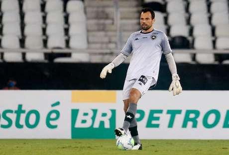 Diego Cavalieri em ação pelo Botafogo (Foto: Vítor Silva/Botafogo)