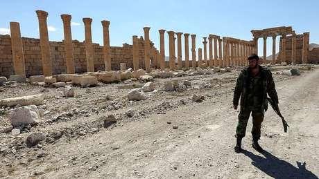 Palmira foi tomada duas vezes pelo EI, que destriu parte de seus artefatos históricos