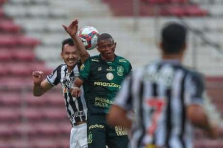 Duelo deste domingo foi truncado (Pedro Souza/Atlético-MG)