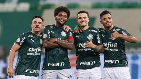 Palmeiras goleou o Corinthians por 4 a 0 no Allianz Parque no Brasileirão 2020 (Foto: Cesar Greco/Palmeiras)