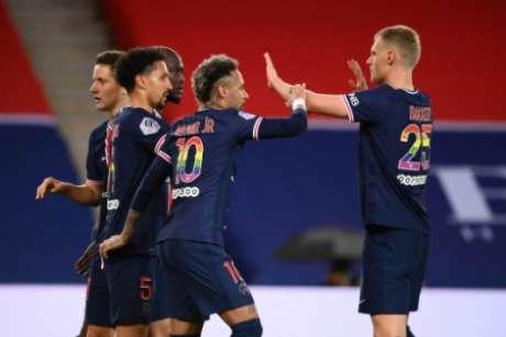 PSG segue vivo no Campeonato Francês (Foto: FRANCK FIFE / AFP)