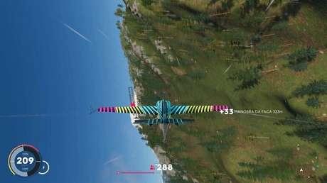 Aéreos podem ser de acrobacias ou corridas