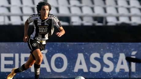 Os jogadores do Botafogo ficaram na bronca com a arbitragem (Foto: Vitor Silva / Botafogo)