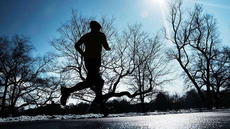 Corredores de longa distância podem ter um desempenho melhor quando está frio
