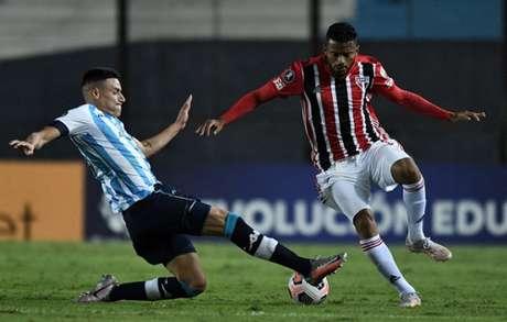Primeira partida entre as equipes terminou em 0 a 0 (Foto: Marcelo ENDELLI / POOL / AFP)