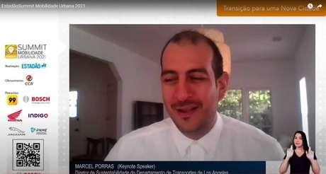 Marcel Porras foi uma das atrações do primeiro dia do Summit Mobilidade Urbana