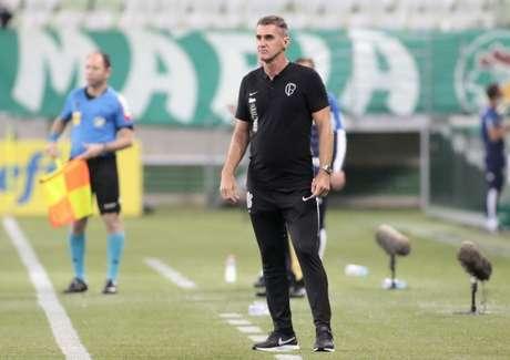 Mancini dirigiu o Timão em três Dérbis, com duas derrotas e um empate (Foto: Rodrigo Coca/Ag.Corinthians)
