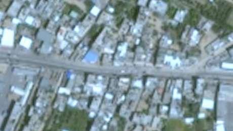 Imagens de Gaza no Google Earth aparecem em resolução bastante baixa, e datam de 2016
