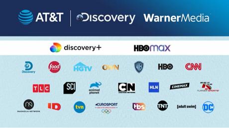 Fusão da WarnerMedia e da Discovery