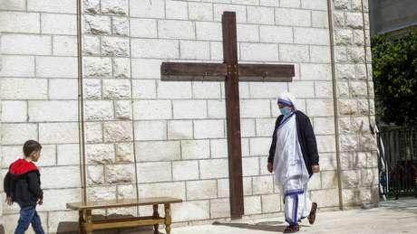 Estima-se que 50 mil cristãos habitem os territórios palestinos.