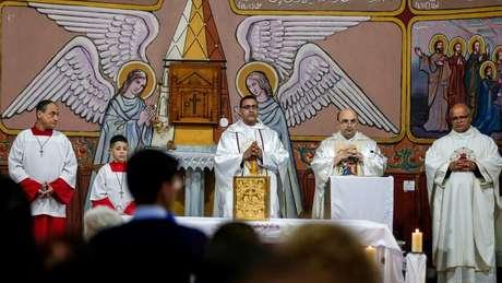 Nos territórios palestinos há presença de igrejas ortodoxas, evangélicas e católicas
