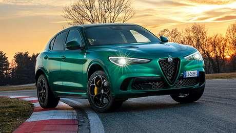 Alfa Romeo Stelvio.