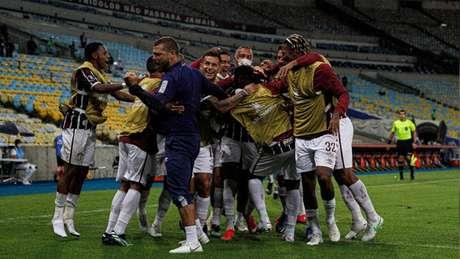 'A gente vai alternando e buscando pegar o melhor momento de cada jogador', disse o técnico Roger Machado (LUCAS MERÇON / FLUMINENSE F.C.
