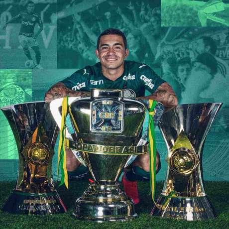 Dudu está de volta ao Palmeiras (Divulgação/Palmeiras)