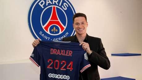 Draxler renovou até 2024 (Foto: Divulgação/PSG)