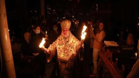 A Igreja Ortodoxa Grega denunciou fortes pressões para que deixasse Jerusalém