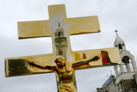 Os cristãos que vivem nos territórios palestinos são cerca de 1% da população
