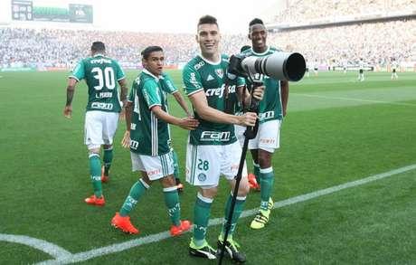 Verdão tem histórico de não se intimidar na casa do rival (Cesar Greco/Palmeiras)