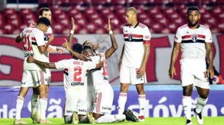 São Paulo goleou Mirassol (Foto: Alexandre Battibugli/Paulistão)