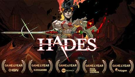 Hades recebeu vários prêmios de Jogo do Ano