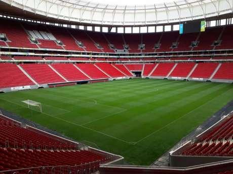 Estádio Mané Garrincha, palco da Copa do Mundo de 2014 (Foto: Divulgação)