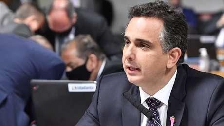 Tebet perdeu eleição para presidência do Senado para o senador Rodrigo Pacheco (DEM-MG), que teve apoio de Bolsonaro e Alcolumbre