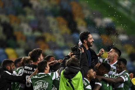 Rúben Amorim recolocou Sporting na Champions League (PATRICIA DE MELO MOREIRA / AFP)