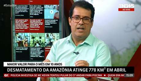 """André Trigueiro no 'Estúdio i': """"O governo tem a obrigação de responder aos jornalistas"""""""