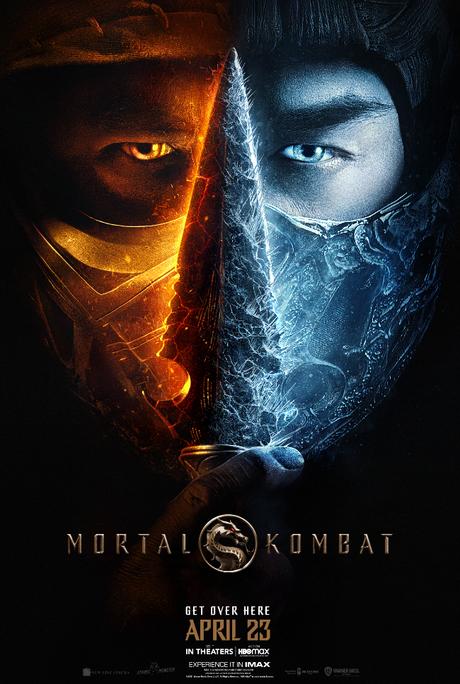 Cartaz do novo longa da franquia Mortal Kombat.