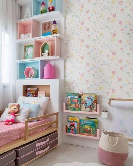 27. Almofadas para quarto infantil com design delicado. Fonte: Pinterest