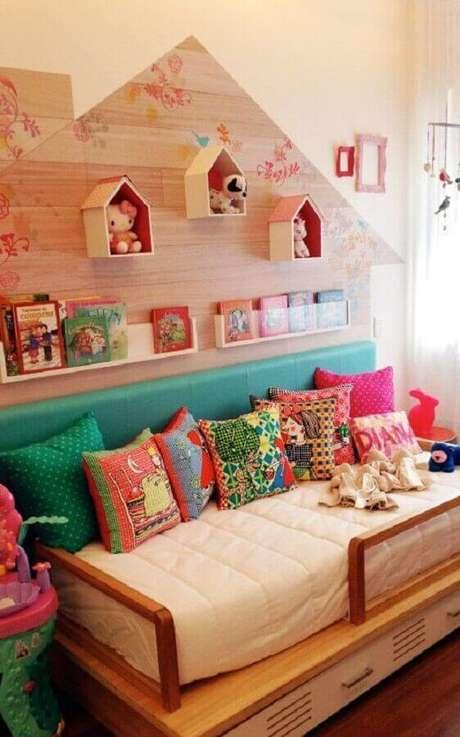 45. Decoração divertida com almofadas decorativas infantil. Fonte: Pinterest