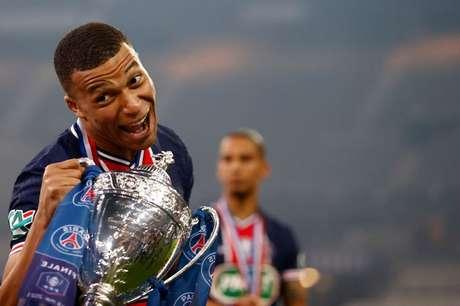 Mbappé brilha e leva PSG à conquista da Copa da França   19/5/2021    REUTERS/Christian Hartmann