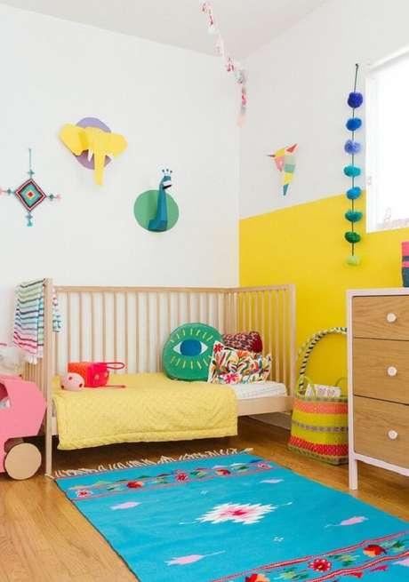 21. Almofadas decorativas infantil em diferentes formatos. Fonte: Pinterest