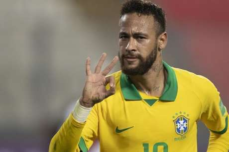 Neymar pela seleção brasileira (Lucas Figueiredo/CBF)