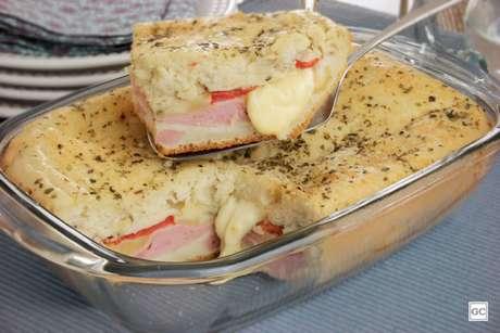 Guia da Cozinha - Torta piquenique na travessa fácil e saborosa