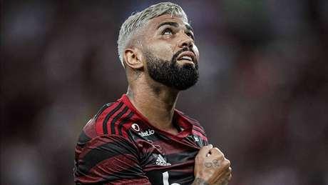 Gabigol voltou a dar show, fez três gols na vitória do Flamengo por 5 a 0 sobre o Bahia (Pedro e Vitinho completaram o placar)
