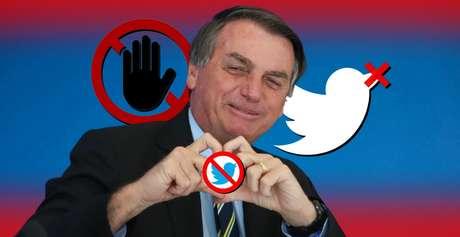'Tá bloqueado, tá ok?': Presidente Bolsonaro não se acanha em barrar usuários que o contestam e criticam