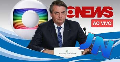 """Chamado de """"ex-presidente"""" na TV, Jair Bolsonaro questionou se o equívoco teria sido intencional"""