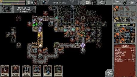 Não se engane pelo visual simples de Loop Hero. O game é bem desafiante!