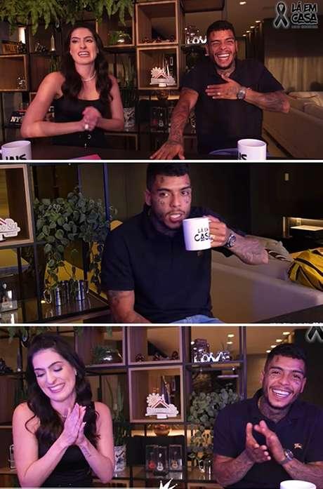 Cenas da entrevista postada em duas partes no canal 'Lá em Casa': MC Kevin feliz com a autonomia profissional e os planos da vida pessoal