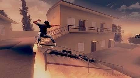 Como jogar Skate City
